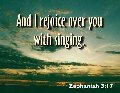 Rejoice over you